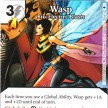 Age of Ultron - Dice Masters - 105 - Wasp: Bio-Electric Blasts