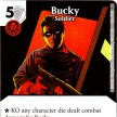 Age of Ultron - Dice Masters - 109 - Bucky: Soldier