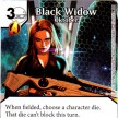 Age of Ultron - Dice Masters - 037 - Black Widow: Oktober