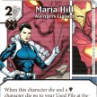 Age of Ultron - Dice Masters - 055 - Maria Hill: Avengers Liaison