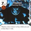 Age of Ultron - Dice Masters - 068 - Thanos: Courting Death