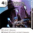 Justice League - Dice Masters - 037 - Batarang - Tool of the Bat