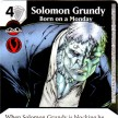 Justice League - Dice Masters - 066 - Solomon Grundy - Born on a Monday