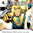 Justice League - Dice Masters - 080 - Booster Gold - Glory-Seeking Showboat