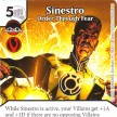 Justice League - Dice Masters - 099 - Sinestro - Order Through Fear