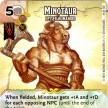 Battle for Faerun - 044 - Minotaur: Lesser Humanoid