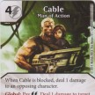 Uncanny X-Men - Dice Masters - 039 - Cable - Man of Action