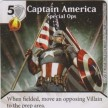 Uncanny X-Men - Dice Masters - 040 - Captain America - Special Ops