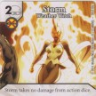 Uncanny X-Men - Dice Masters - 058 - Storm - Weather Witch