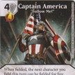 "Uncanny X-Men - Dice Masters - 069 - Captain America - ""Follow Me!"""