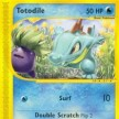 Expedition Base Set - 134 - Totodile