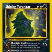 Neo Destiny - 113 - Shining Tyranitar - Triple Star Ultra Rare