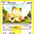 BW - Noble Victories 102 - Meowth - Secret Ultra Rare