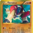 BW7 - Boundaries Crossed - 151 - Terrakion - Secret Ultra Rare Shiny