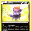 BW11 - Legendary Treasures - 089 - Zorua