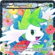 BW11 - Legendary Treasures - RC21  - Shaymin-EX - Full Art Ultra Rare