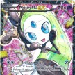 BW11 - Legendary Treasures - RC25  - Meloetta-EX - Full Art Ultra Rare