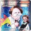 XY3 - Furious Fists - 110 - Fossil Researcher - Full Art Ultra Rare