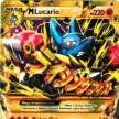 XY3 - Furious Fists - 113 - Mega Lucario-EX - Secret Full Art Ultra Rare