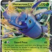 XY3 - Furious Fists - 004 - Heracross-EX - Ultra Rare