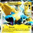 XY4 - Phantom Forces - 023 - Manectric-EX - Ultra Rare
