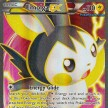 XY - 143 - Emolga-EX - Full Art Ultra Rare