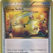 XY6 - Cielos Rugientes - 109 - Interruptor de Energia / Energy Switch - Secret Gold Ultra Rare