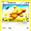 XY8 - BREAKThrough  - 121 - Teddiursa