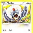 XY8 - BREAKThrough  - 129 - Rufflet