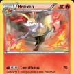 XY8 - BREAKThrough  - 026 - Braixen