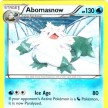 XY8 - BREAKThrough  - 040 - Abomasnow