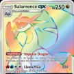 Majestad de Dragones - 073 - Salamence-GX Secret Ultra Rare