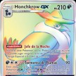 Vinculos Indestructibles - 223 - Honchkrow-GX Secret Rainbow Ultra Rare