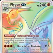 Eclipse Cosmico - 256 - Flygon-GX Rainbow Secret Rare