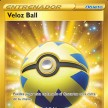 Espada y Escudo - 216 - Veloz Ball Secret Gold Ultra Rare