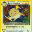 Team Rocket - 83 - Dark Raichu - Secret Ultra Rare