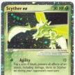 EX - Ruby and Sapphire - 102 - Scyther ex - Ultra Rare