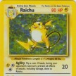 Base Set - 014 - Raichu - GOOD Condition - Castellano