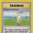 Base Set - 076 - Pokémon Breeder