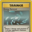 Base Set - 092 - Energy Removal