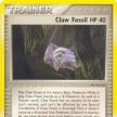 EX - Legend Maker - 78 - Claw Fossil