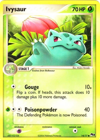Pop Series 3 - 14 Ivysaur