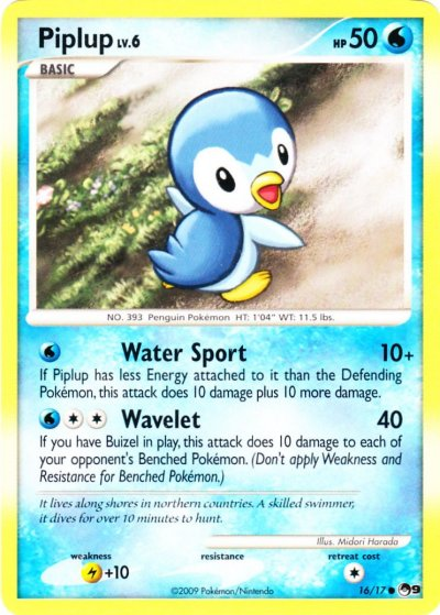 Pop Series 9 - 16 Piplup