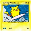 Platinum Rising Rivals - 114 Surfing Pikachu - Secret Ultra Rare