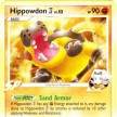 Platinum Rising Rivals - 042 Hippowdon SP Elite Four