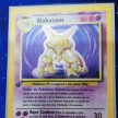 Base Set - 001 - Alakazam - 1st Edition -  EXCELLENT - Spanish