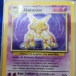 Base Set - 001 - Alakazam - PLAYED - Spanish