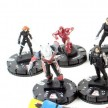 Heroclix Captain America - Civil War Movie Complete Common Set 1-10