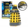 Doctor Who - Dalek - Yellow USB Patrol Figure- Motion Detectors Lights SFX