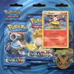 Blister 3 Sobres XY12 Evolutions Triple Pack Booster - Braixen